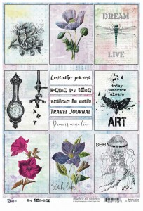 13arts - ART JOURNEY A4 paper elements