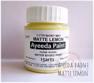 Ayeeda Paint - Matte Lemon