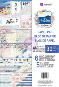 Prima Marketing - Santorini - Zestaw papierów A4