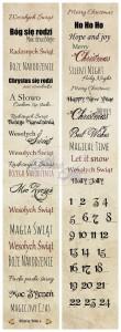 AltairArt - Dwustronny papier do scrapbookingu Festive Bells 11