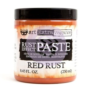Art Extravagance - Rust Effect Paste Big Jar - Red Rust