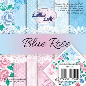 AltairArt - Blue Rose - bloczek 15x15 cm