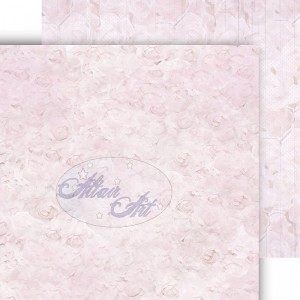 Dwustronny papier do scrapbookingu Blue Rose 06 15 cm x 15 cm