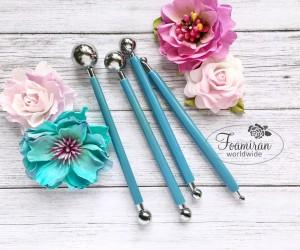 Metalowe narzędzia do formowania kwiatów
