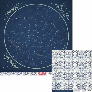 WE R - Wildflower - papier do scrapbookingu - STARGAZING
