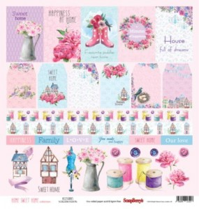 ScrapBerry's -  Home Sweet Home, Accessories