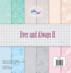AltairArt - Ever and Always 2 zestaw papierów do scrapbookingu