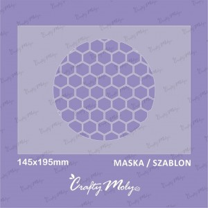 Crafty Moly - 005-Maska -B -195x145mm