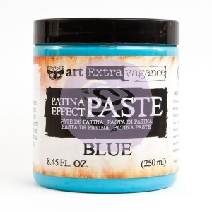Art Extravagance - Patina Effect Paste Big Jar - Blue