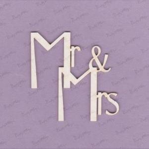 610 Tekturka - Mr & Mrs