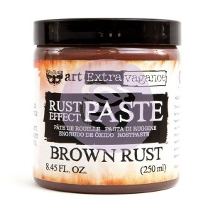 Art Extravagance - Rust Effect Paste Big Jar - Brown Rust