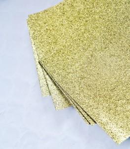 Papier brokatowy złoty 24 cm x 17 cm