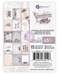 Lavender - Karty 3x4 Journaling Card