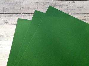 Karton barwiony w masie, 220 gsm, 33 cm x 35 cm, ciemna zieleń