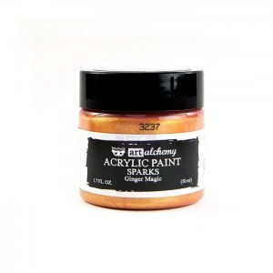 Art Alchemy Finnabair - Sparks - Ginger Magic 50ml