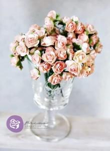 Różyczki Różowe - 10 sztuk
