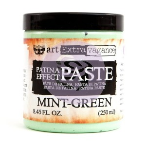 Art Extravagance - Patina Effect Paste Big Jar - Mint-Green