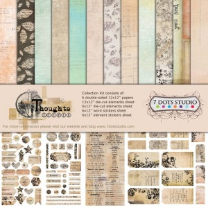 7 Dots Studio - Thoughts Keeper - Collection Kit