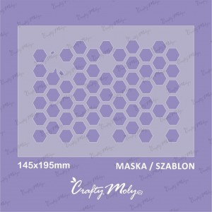 Crafty Moly - 003-Maska -B -195x145mm