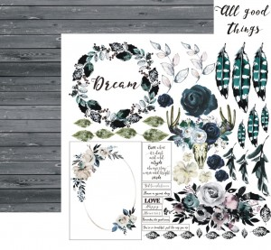 13arts - dwustronny papier do scrapbookingu - Until Dawn, All Good Things