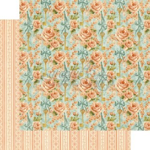 Graphic 45 - Secret Garden Collection - Coming Up Roses