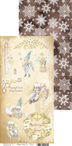 ESSY-FLORESY- VINTAGE ELEMENTS 01 - PAPIER DO SCRAPBOOKINGU