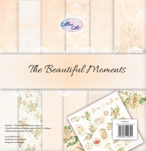 AltairArt - The Beautiful Moments zestaw papierów do scrapbookingu 30 cm x 30 cm