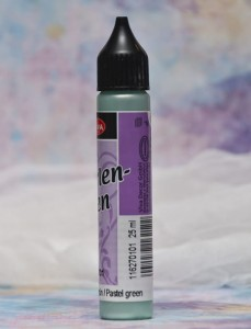Perły w płynie Viva Decor Perlen-pen pastelowa zieleń, miętowy,  25ml