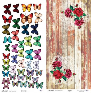 AltairArt - Holy Mountains - Butterflies 3/Bouquets - Motyle i bukiety