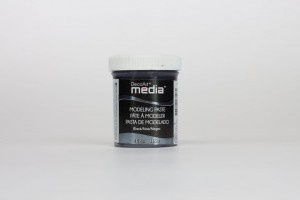 DecoArt Medium Modeling Paste Black