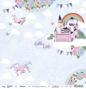 AltairArt - papier do scrapbookingu  On the Wings of a Rainbow 03