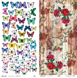 AltairArt - Holy Mountains - Butterflies 2/Flowers - Motyle i kwiaty