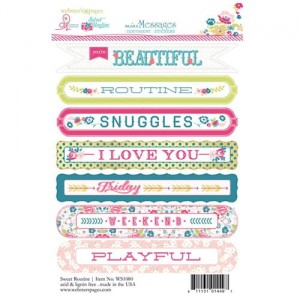 Sentiment Sweet Routine 4X6 Stickers