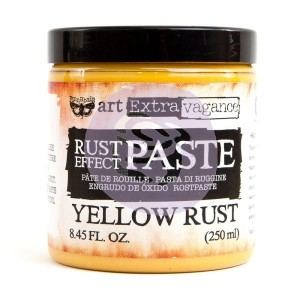 Art Extravagance - Rust Effect Paste Big Jar - Yellow Rust