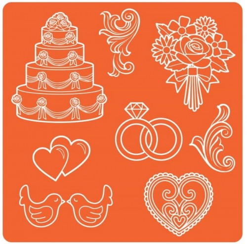 Mod Podge - Mod Molds - Wedding.jpg